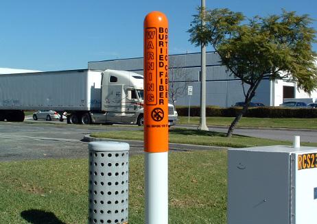 Fiber Optic Marker Post